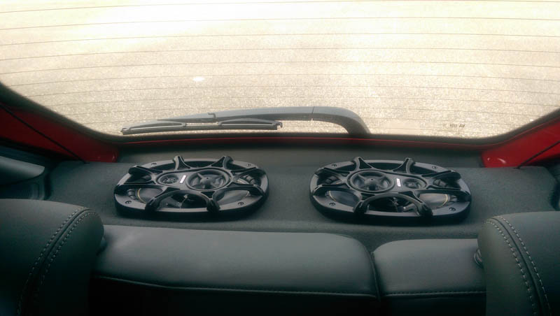 kicker speaker install review and pictures audio navigation mylink and navigations chevy. Black Bedroom Furniture Sets. Home Design Ideas