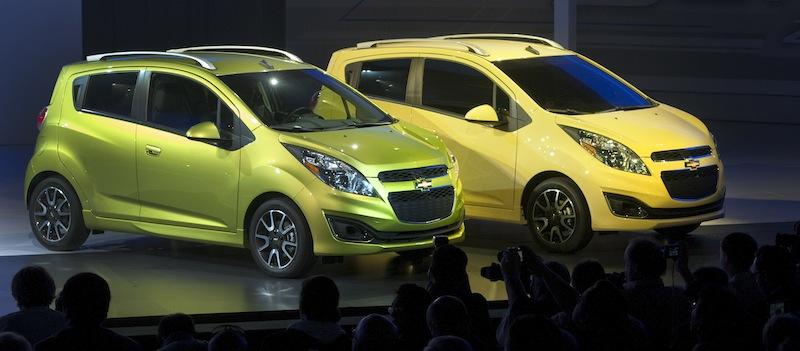 Chevrolet Unveils 2013 Spark at Los Angeles Auto Show