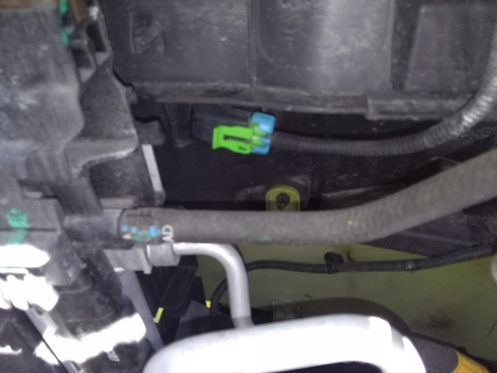 Where do the front impact sensors go? - Chevy Spark 2007
